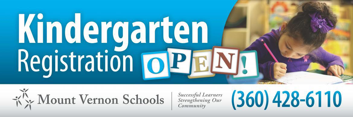 Kindergarten Registration is OPEN!